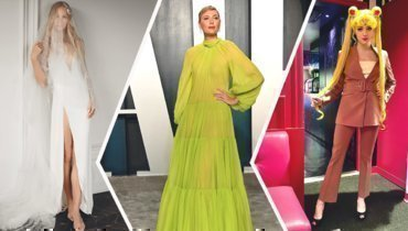 Клишина вобразе невесты, платье Шараповой на «Оскар», шутка отМедведевой.
