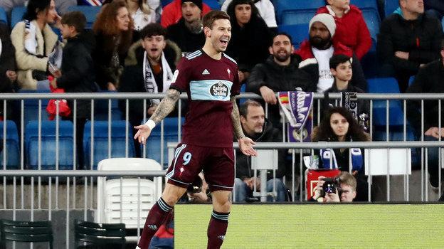 «Реал»— «Сельта»— 2:2, чемпионат Испании, лалига, 16февраля 2020, Смолов забил «Реалу»