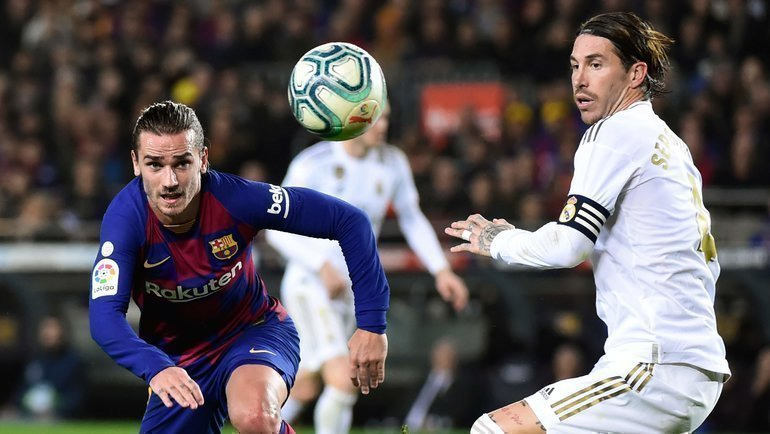 «Реал»— «Барселона». Фото AFP