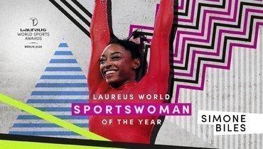 Симона Байлз втретий раз названа спортсменкой года Laureus