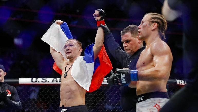 Петр Ян. Фото MMA Fighting