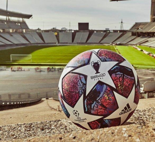 Мяч финала Лиги чемпионов-2020. Фото УЕФА.