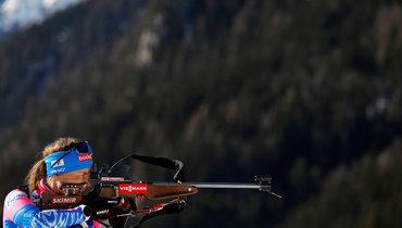 Юрлова-Перхт— единственная изроссиянок, отобравшаяся вмасс-старт наЧМ