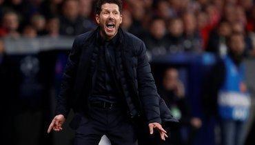 «Атлетико» одолел действующего победителя Лиги чемпионов «Ливерпуль» впервой игре 1/8 финала