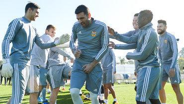 Лодыгин провел первую тренировку в «Арсенале»