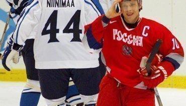 Пять голов Буре вворота Финляндии. Исторический полуфинал России наОлимпиаде вНагано-98