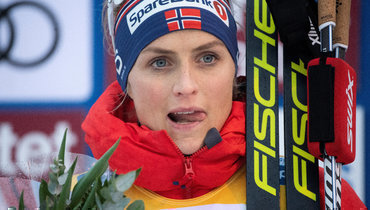 Йохауг выиграла марафон на «Ски туре», россиянки вне топ-20