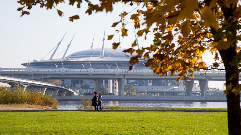 Стадион вСанкт-Петербурге. Фото ФК «Зенит»