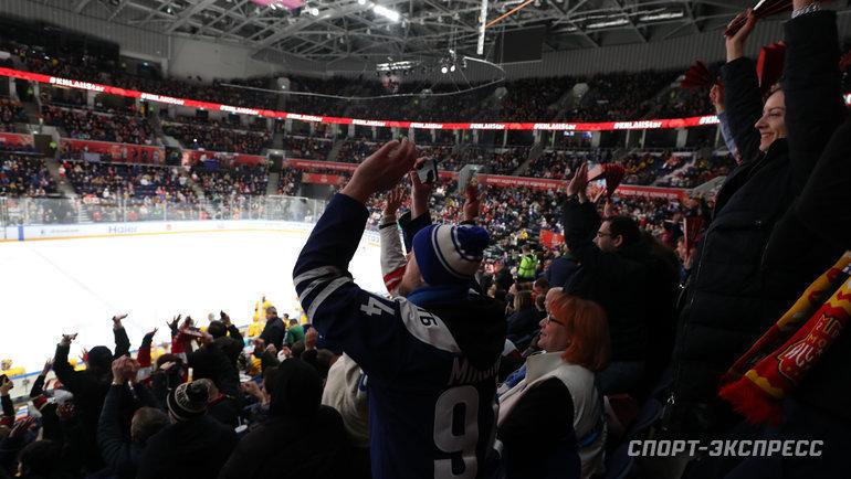 Кто еще изклубов КХЛ может попасть вплей-офф? Фото Александр Федоров, «СЭ» / Canon EOS-1D X Mark II