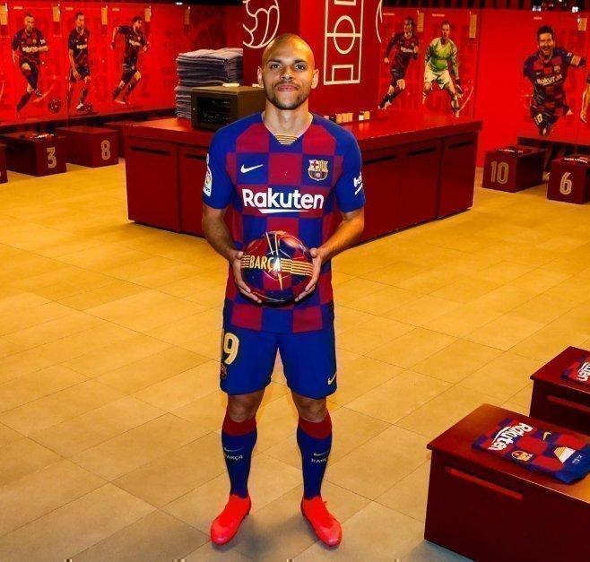 Мартин Брэйтуэйт. Фото ФК «Барселона»