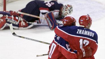 18 лет назад незасчитали шайбу Самсонова вполуфинале Россия— США наОлимпиаде вСолт-Лейк-Сити