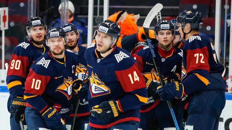 Магнитогорский «Металлург» вышел вплей-офф КХЛ. Фото ХК «Металлург»