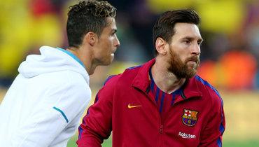 «Барселона»— «Эйбар»— 5:0, СПАЛ— «Ювентус»— 1:2, чемпионаты Испании, Италии, лалига, серия А, 22февраля 2020 года, Месси иКриштиану Роналду, новые рекорды