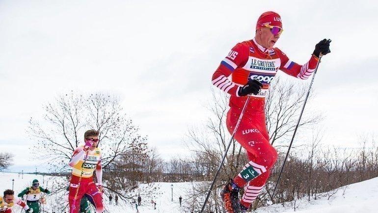 Александр Большунов. Фото AFP