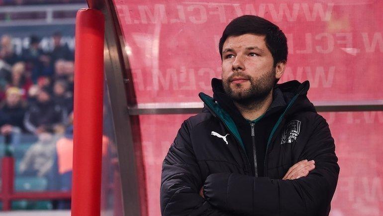Тренер «Краснодара» Мурад Мусаев. Фото ФК «Краснодар»