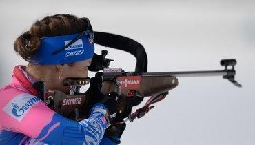 Екатерина Юрлова-Перхт стала шестой вмасс-старте начемпионате мира.