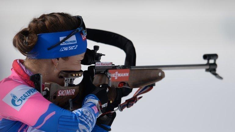 Екатерина Юрлова-Перхт стала шестой вмасс-старте начемпионате мира. Фото СБР
