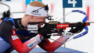 Йоханнес Бевыиграл масс-старт вИталии истал 10-кратным чемпионом мира