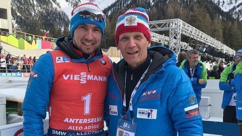 Владимир Драчев (справа) иАлександр Логинов. Фото Instagram