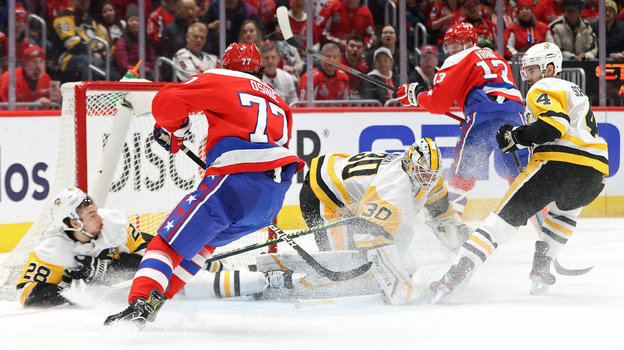 НХЛ, Вашингтон— Питтсбург— 5:3, обзор матча, гол Евгения Малкина, как сыграл Александр Овечкин