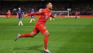 «Бавария» разгромила «Челси» благодаря дублю Гнабри