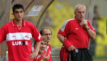16 лет назад «Спартак» провел первый матч под руководством Невио Скалы