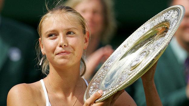 2004 год. Мария Шарапова— победительница Уимблдона.