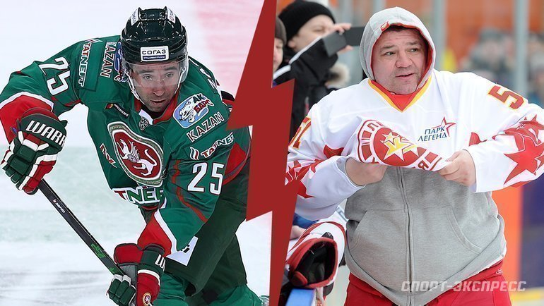 """Данис Зарипов (слева) иАндрей Коваленко. Фото """"СЭ"""""""