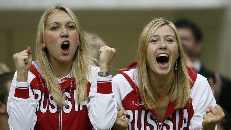 Елена Веснина иМария Шарапова. Фото Reuters