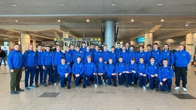 Сборная России U18 порегби. Фото пресс-служба Федерации регби России