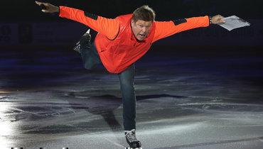 Губерниев стал фигуристом нашоу вМоскве
