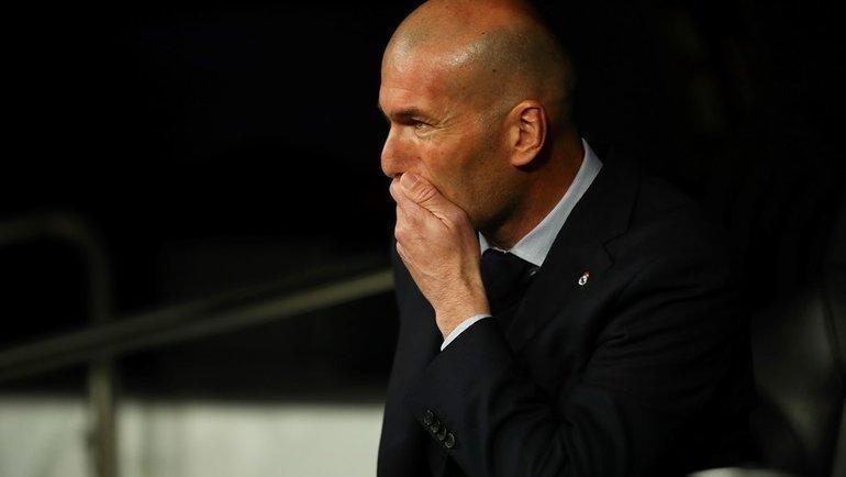 26февраля. Мадрид. «Реал»— «Манчестер Сити»— 1:2. Зинедин Зидан. Фото УЕФА