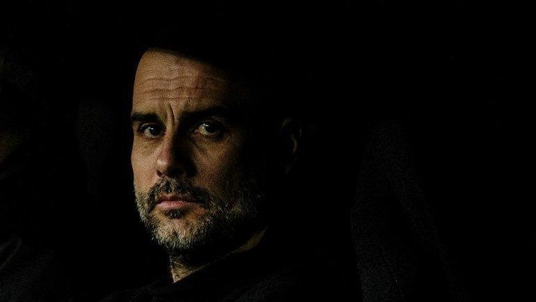 "26 февраля. Мадрид. ""Реал"" - ""Манчестер Сити"" - 1:2. Хосеп Гвардьола. Фото УЕФА"