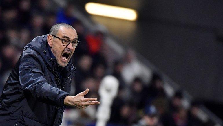 26февраля. Лион. «Лион»— «Ювентус»— 1:0. Маурицио Сарри. Фото УЕФА