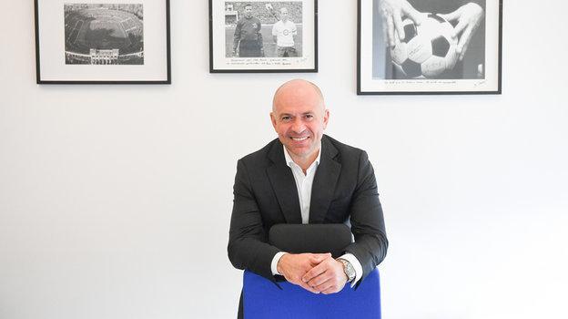 Генеральный директорУК «Динамо» Андрей Лунтовский.