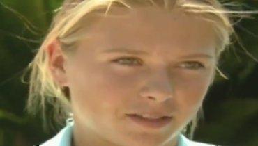 15-летняя Шарапова мечтала сыграть против Серены Уильямс истать первой ракеткой мира. Все сбылось