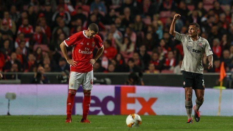 27февраля. Лиссабон. «Бенфика»— «Шахтер»— 3:3. Фото УЕФА