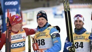 Большунов доказал, что драма на «Ски-туре»  - случайность. Онпривез Клебо 44 секунды