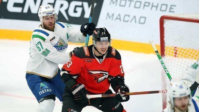 1марта стартовал плей-офф КХЛ. Фото ХК «Авангард»