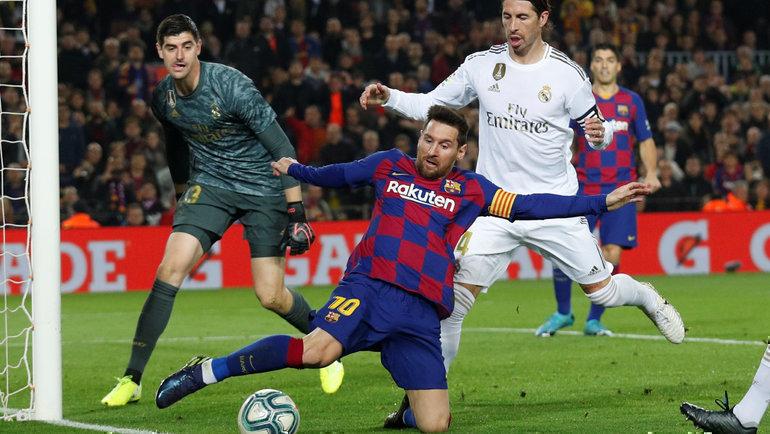 18декабря 2019 года. Барселона. «Барселона»— «Реал»— 0:0. Лионель Месси. Фото Reuters