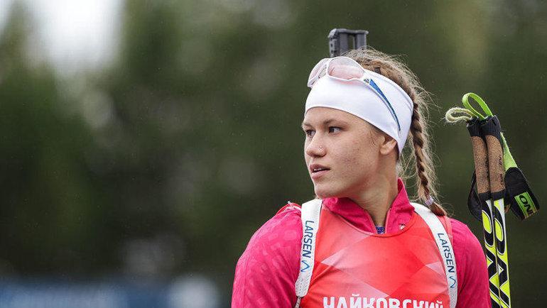 Кристина Резцова. Фото СБР.