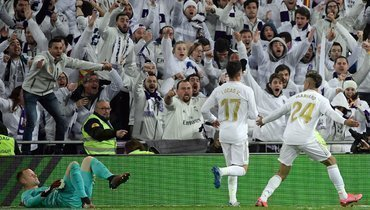 «Реал»— «Барселона»: гол Диаса вкласико покадрам