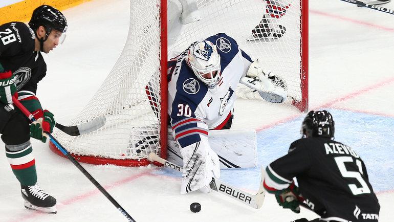 «АкБарс» примет «Нефтехимик» вматче плей-офф КХЛ. Фото ХК «АкБарс»