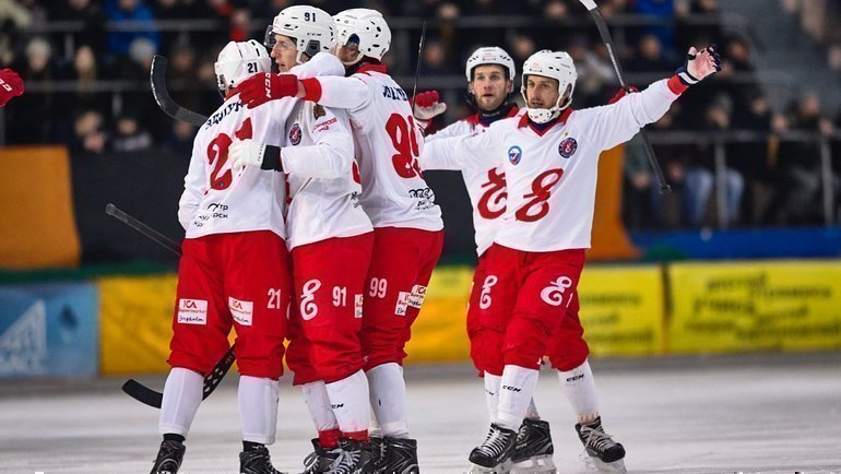 Впервом раунде плей-офф «Енисей» сыграет с «Уральским трубником». Фото vk.com/hcenisey1934