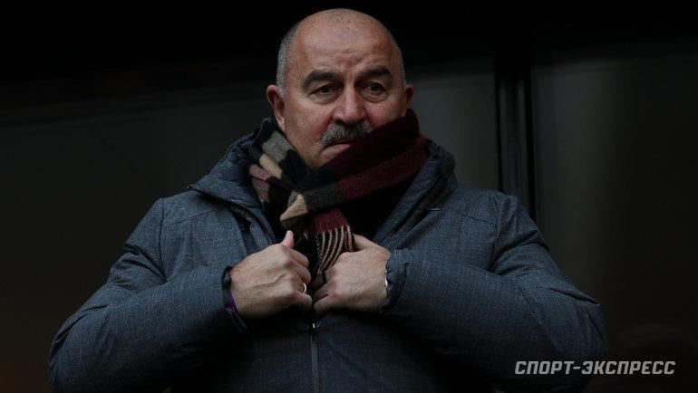Станислав Черчесов. Фото Дарья Исаева, «СЭ» / Canon EOS-1D X Mark II