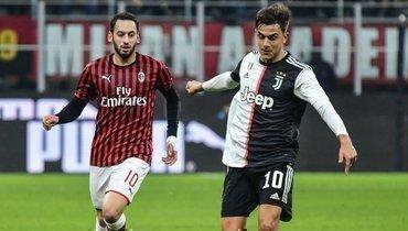 Милан футбольный матч