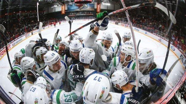 Плей-офф КХЛ, Авангард— Салават Юлаев— 2:3, 1-1 всерии, обзор матча