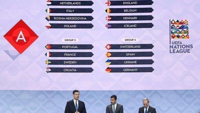 Жеребьевка Лиги наций. Фото УЕФА