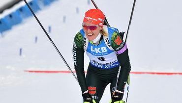 Херманн выиграла спринт вНове-Место, Юрлова— 11-я