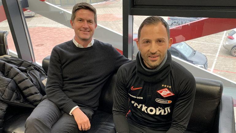 Ральф Беккер (слева) иДоменико Тедеско. Фото «СЭ»